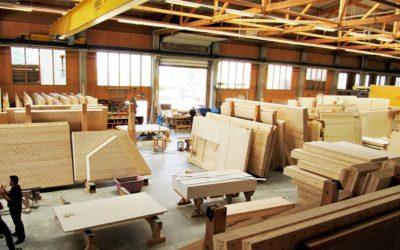 20. April 2018 – Werkbesichtigung Holz100