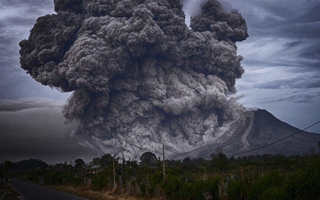 19. Oktober 2018: Vulkanasche als Wassersperre?