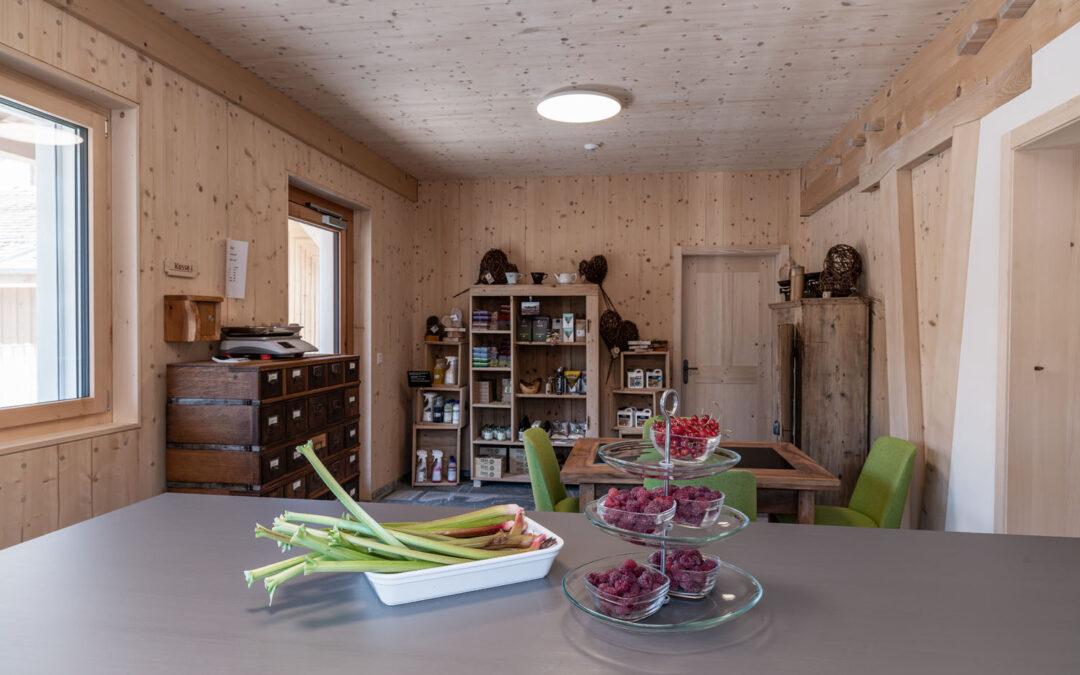 Lädeli & Kafi – nachhaltige Produkte und saisonales aus dem Quartiergarten